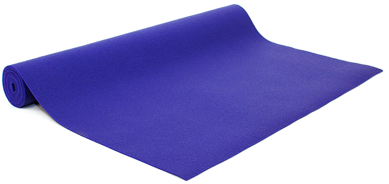 Коврик для йоги и фитнеса Bodhi Kailash 60, цвет: фиолетовый, 60 х 0,3 х 200 см2000102696741Коврик для йоги Kailash - это тонкий прочный коврик средней стоимости. Его достаточно тяжело причислить к какой-то категории. Он недорогой, сделан из плотной PVC пены, в точности из того же материала, что и коврик Rishikesh. Поэтому его потребительские свойства полностью дублируют йога-мат Ришикеш, за исключением комфортности - толщина йога-мата Кайлаш всего 3мм. В результате с этим ковриком вы получаете хорошую износостойкость, неплохое сцепление при сухих ладонях и небольшой вес. Этот коврик можно смело брать с собой на семинар или в путешествие - он вас не сильно обременит весом и габаритами.Преимущества: прочность, износостойкость, небольшой вес и габариты, бюджетная стоимость, несколько мягких цветов, 4 варианта длины (175, 185, 200, 220см), наличие в 30м бухтах для оптового заказа.Минусы: скользкость при влажных ладонях, жесткость из-за маленькой толщины.
