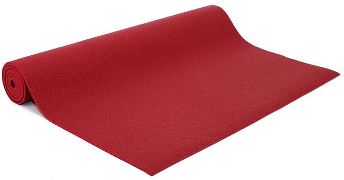 Коврик для йоги и фитнеса Bodhi Kailash 60, цвет: бордовый, 60 х 0,3 х 220 см2000102696772Коврик для йоги Kailash - это тонкий прочный коврик средней стоимости. Его достаточно тяжело причислить к какой-то категории. Он недорогой, сделан из плотной PVC пены, в точности из того же материала, что и коврик Rishikesh. Поэтому его потребительские свойства полностью дублируют йога-мат Ришикеш, за исключением комфортности - толщина йога-мата Кайлаш всего 3мм. В результате с этим ковриком вы получаете хорошую износостойкость, неплохое сцепление при сухих ладонях и небольшой вес. Этот коврик можно смело брать с собой на семинар или в путешествие - он вас не сильно обременит весом и габаритами.Преимущества: прочность, износостойкость, небольшой вес и габариты, бюджетная стоимость, несколько мягких цветов, 4 варианта длины (175, 185, 200, 220см), наличие в 30м бухтах для оптового заказа.Минусы: скользкость при влажных ладонях, жесткость из-за маленькой толщины.
