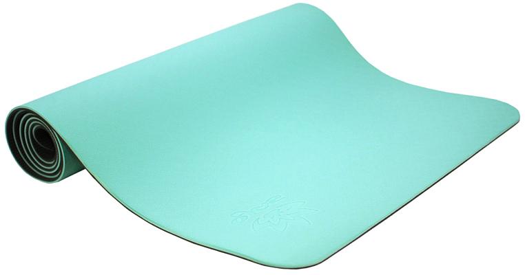 Коврик для йоги и фитнеса Ojas  Shakti Pro , цвет: мятный, 60 х 0,6 х 183 см - Инвентарь