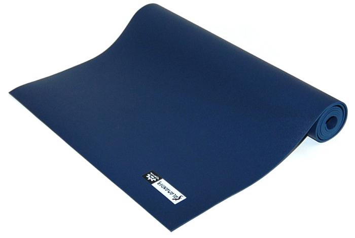 Коврик для йоги и фитнеса Ojas  Salamander Optimum , цвет: темно-синий, 60 х 0,4 х 185 см - Инвентарь