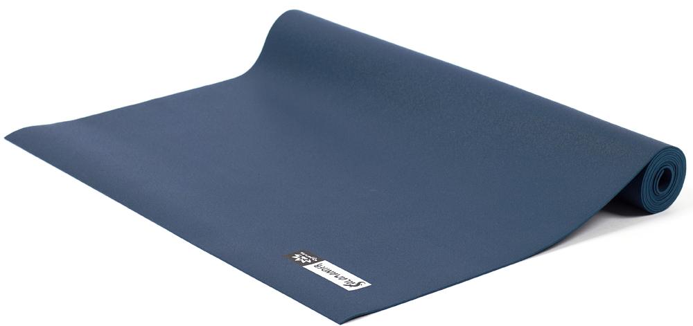 Коврик для йоги и фитнеса Ojas Salamander Slim, цвет: темно-синий, 60 х 0,2 х 185 см коврик для йоги и фитнеса profi fit 6 мм стандарт серый