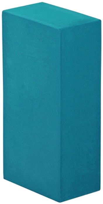 Блок опорный для йоги Bodhi Eva Bodhi 22, цвет: бюрюзовый, 22 х 11 х 6,6 см2000102733583Опорный блок (кирпич) будет незаменим в практике йогой.Стандартный размер 22 х 11 х 6,6 см, специально разработан для занятий йогой.Этот опорный блок очень прочный и упругий, при этом совершенно легкий.Сделан из плотной пластиковой EVA пены с закругленными гранями.