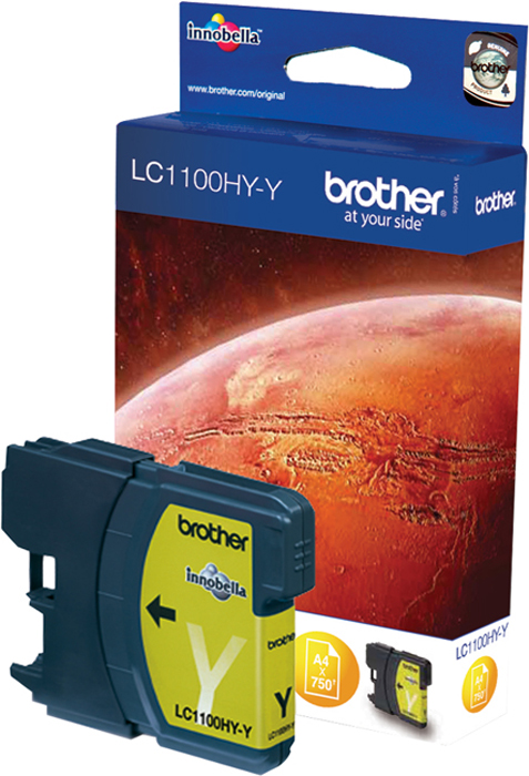 Brother LC1100HYY, Yellow картридж для Brother DCP-6690CW картридж brother lc525xly yellow для dcp j100 j105 j200