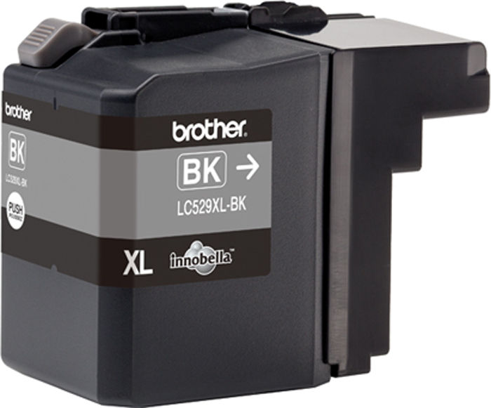 Фото - Brother LC529XLBK, Black картридж для Brother DCP-J100, DCP-J105, MFC-J200 t2 ic b1240y yellow картридж для brother dcp j525 mfc j430 j825 j5910 j6510 j6910