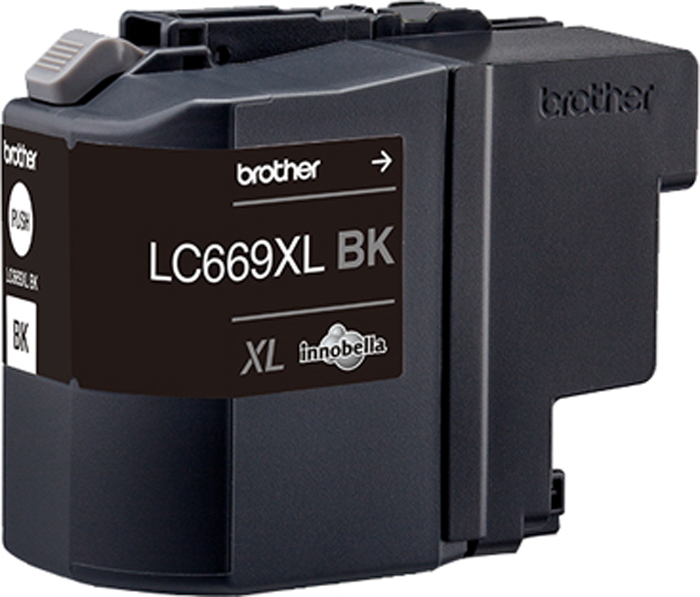 Brother LC669XLBK, Black картридж для Brother MFC-J2320/MFC-J2720 brother lc1220y yellow картридж для brother dcp j525w mfc j430w mfc j825dw