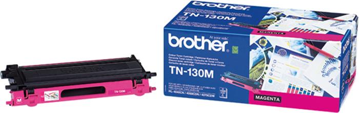 Brother TN130M, Magenta тонер-картридж для Brother HL-4040CN/HL-4050CDN/DCP-9040CN/MFC-9440CNTN130MТонер-картридж Brother TN130M пурпурный, для HL-4040CN/HL-4050CDN/DCP-9040CN/MFC-9440CN (1500 стр)