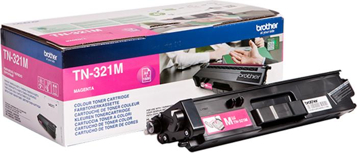 Brother TN321M, Magenta тонер-картридж для Brother HL-L8250CDN/MFC-L8650CDWTN321MТонер-картридж Brother TN321M пурпурный, для HL-L8250CDN/MFC-L8650CDW (1500стр)