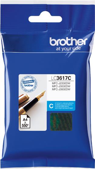 Brother LC3617M, Magenta картридж для Brother MFC-J3530DW/J3930DWLC3617MКартридж струйный Brother LC3617M пурпурный для MFC-J3530DW/J3930DW пурпурный 550стр