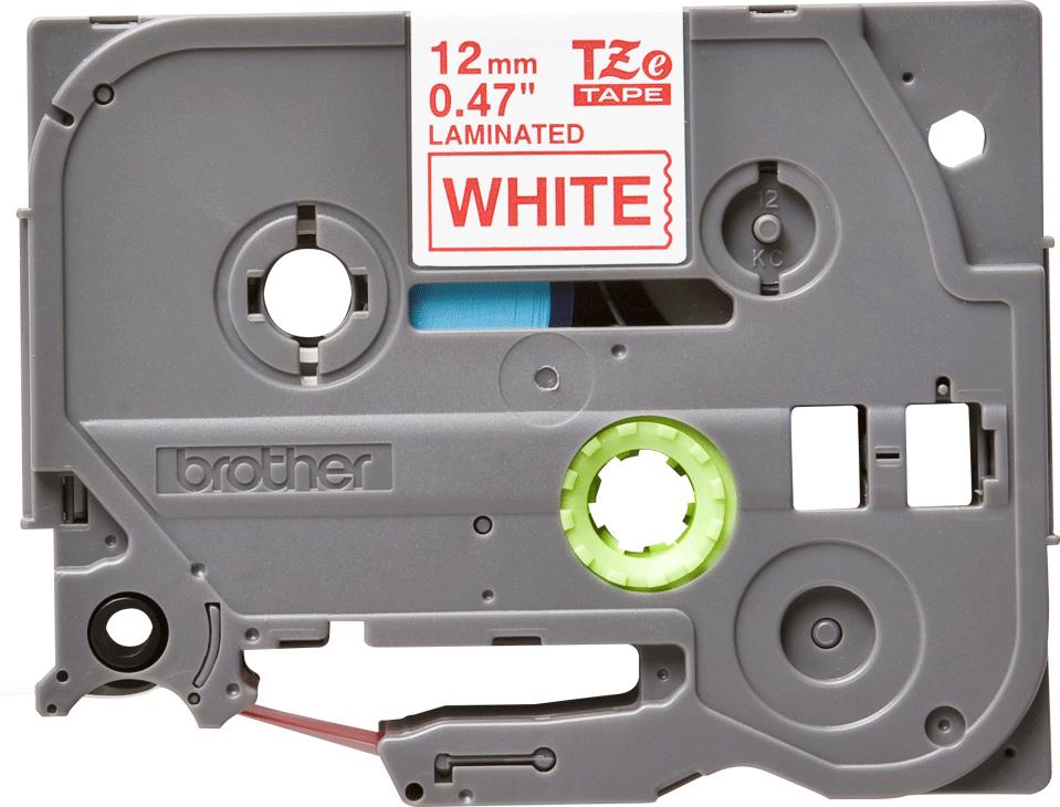 Brother TZE232, White Red лента для матричного принтера 12 ммTZE232Лента Brother TZE232 12мм красный на белом