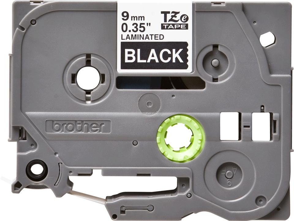 Brother TZE325, Black White лента для матричного принтера 9 ммTZE325Лента Brother TZE325 9мм белый на черном