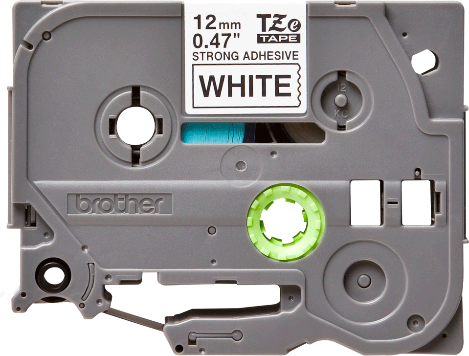 Brother TZES231, White Black лента для матричного принтера 12 мм картридж для принтера brother lc1240bk black