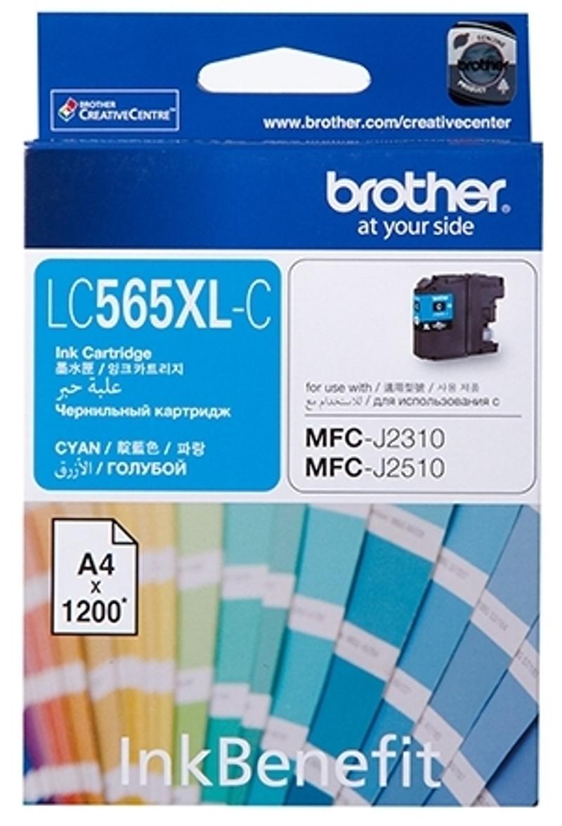 Brother LCXLC, Cyan картридж для Brother MFC-J2310, MFC-J2510, MFC-J3520, MFC-J3720LCXLCКартридж струйный Brother LCXLC голубой для MFC-J2310, MFC-J2510, MFC-J3520, MFC-J3720 (1200 стр)
