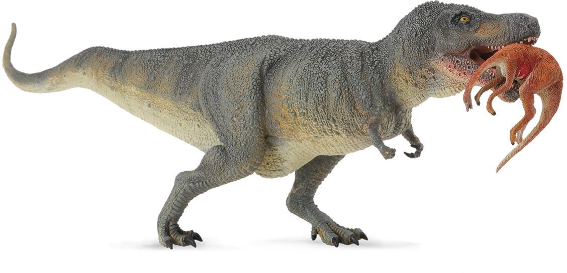 Collecta Фигурка Тиранозавр Рекс с добычей игровые фигурки gulliver collecta двугорбый верблюд l