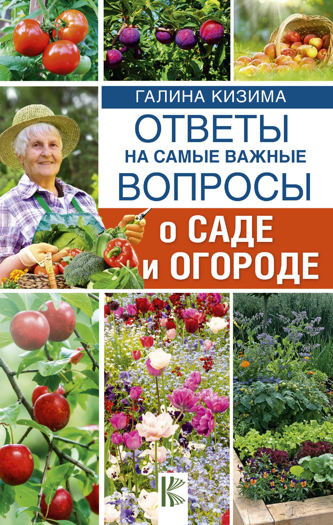 купить Галина Кизима Ответы на самые важные вопросы о саде и огороде по цене 100 рублей