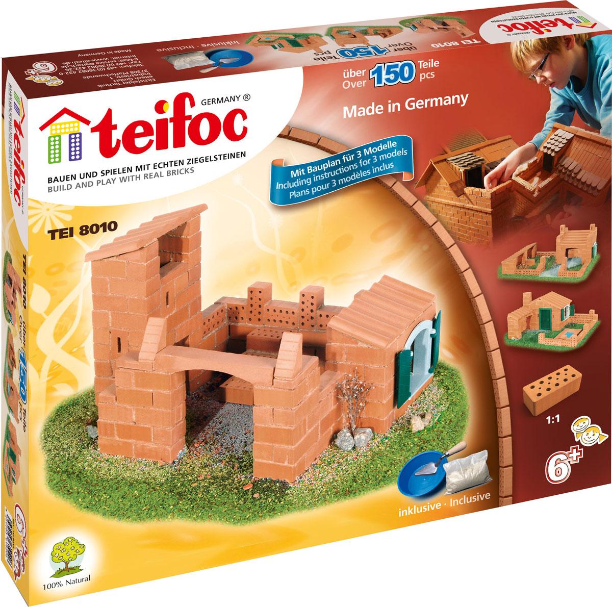 Teifoc Строительный набор Дом TEI 8010