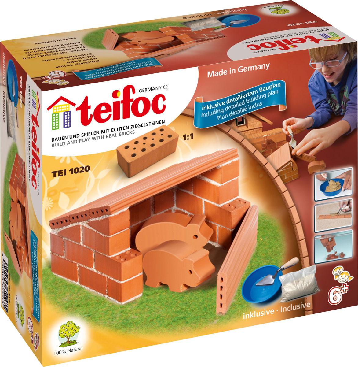 Teifoc Строительный набор Свиноферма, Конструкторы  - купить со скидкой