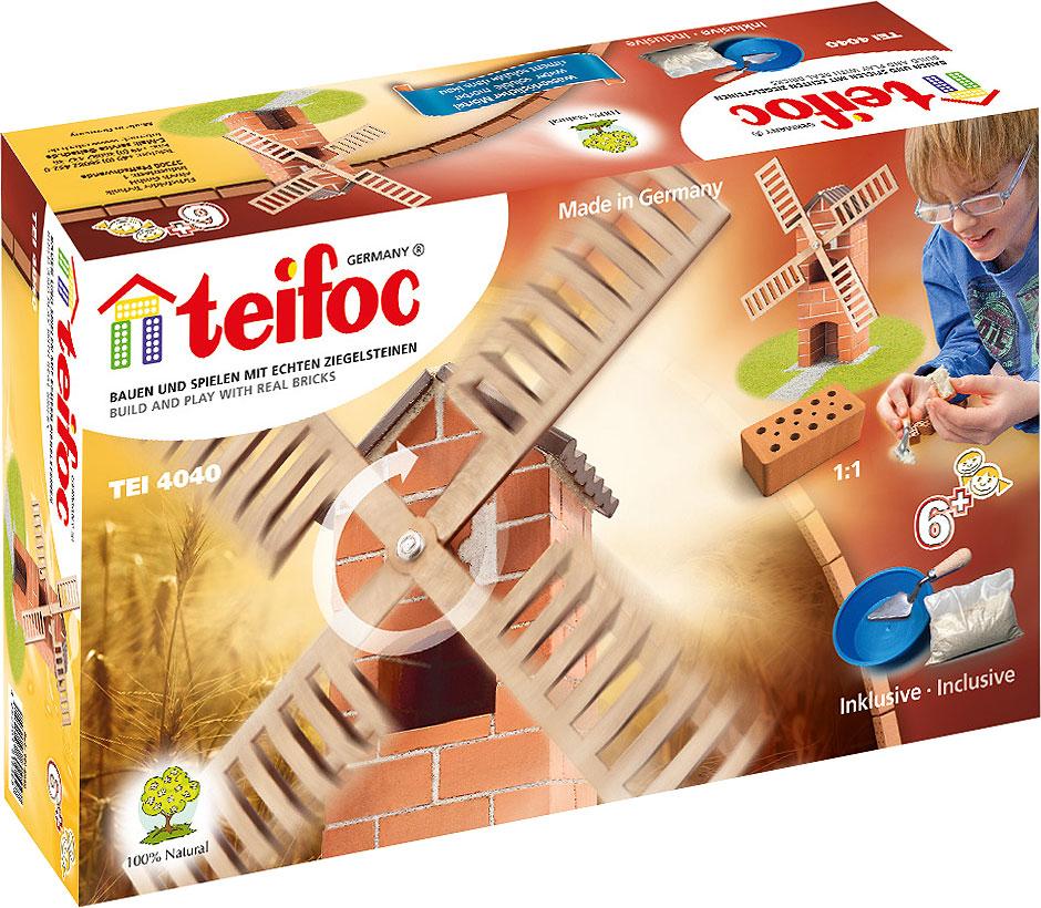 Teifoc Строительный набор Ветряная мельница TEI 4040
