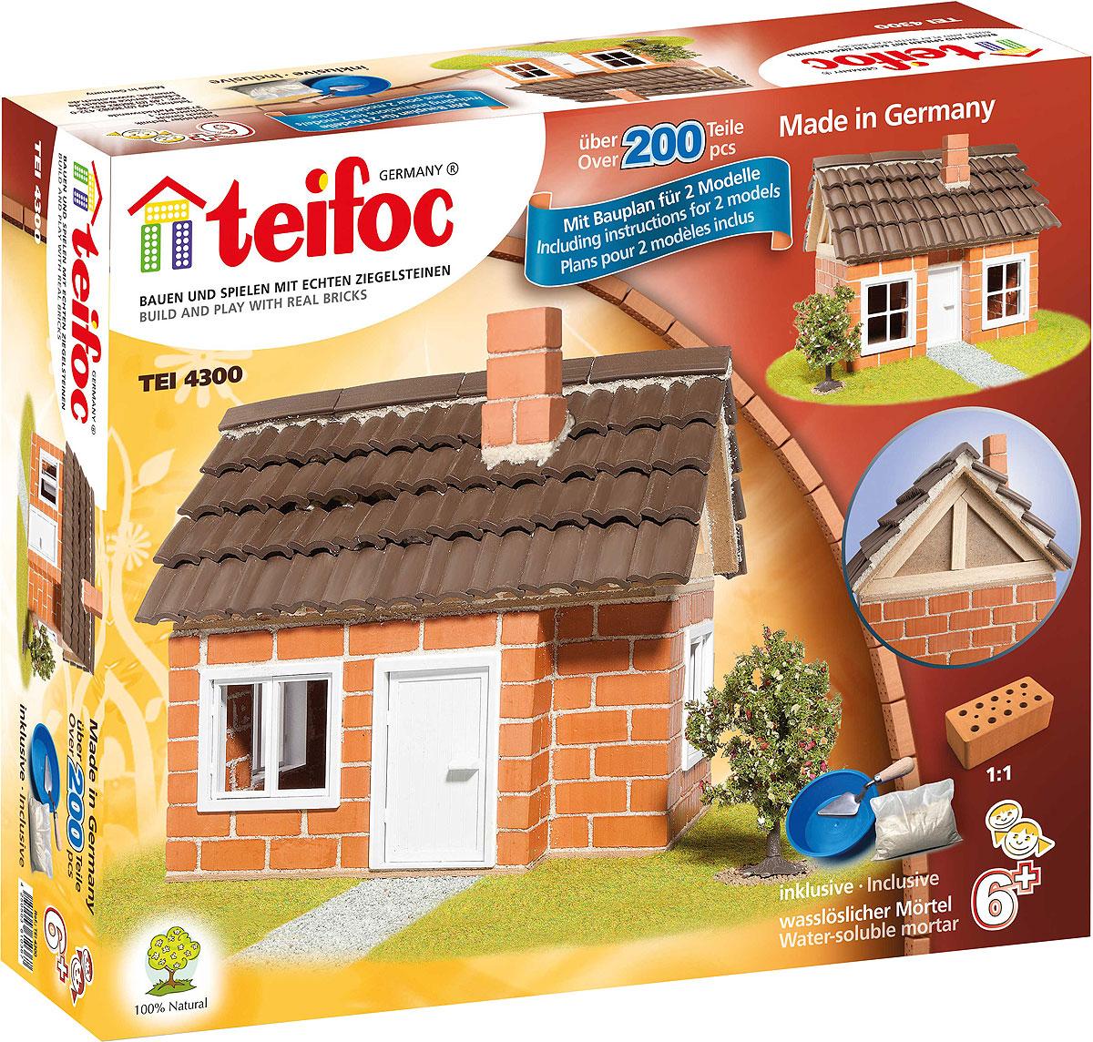 Строительный набор Дом с каркасной крышей