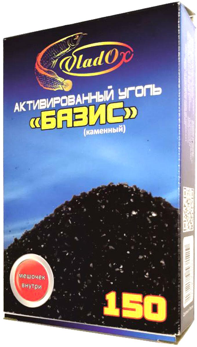 Уголь активированный VladOx Базис, древесный, 150 мл брус 150 50 цена