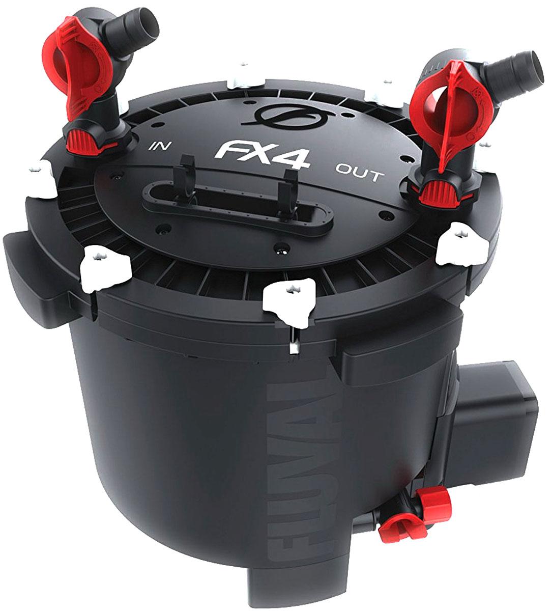 Фильтр для аквариума Fluval Fluval FX4, канистровый фильтр hagen a 465 fluval u1 внутренний до 45л