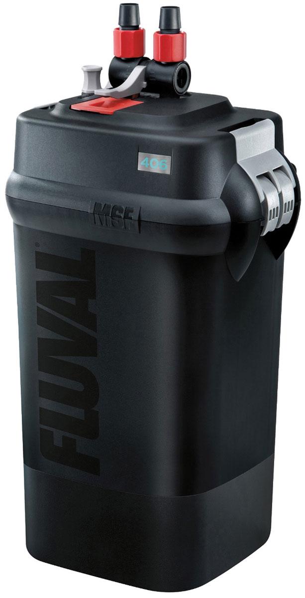 Фильтр для аквариума Fluval Fluval 406, канистровый фильтр hagen a 465 fluval u1 внутренний до 45л