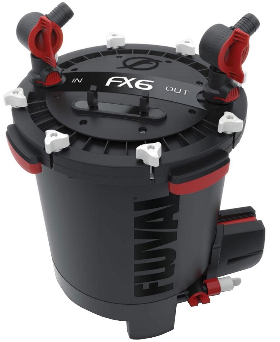 Фильтр для аквариума Fluval Fluval FX6, канистровый фильтр hagen a 465 fluval u1 внутренний до 45л