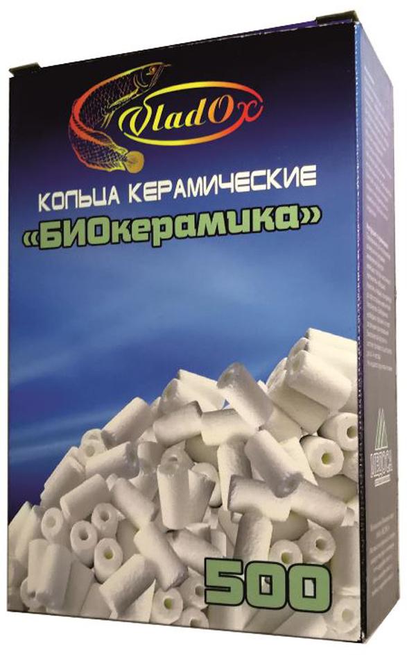 Кольца VladOx БиоКерамика, для биологической фильтрации, 500 мл бытовая химия xaax ополаскиватель для посудомоечной машины 500 мл