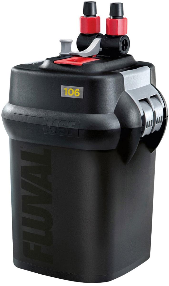 Фильтр для аквариума Fluval Fluval 106, канистровый led fluval светильники для аквариума 70 литров