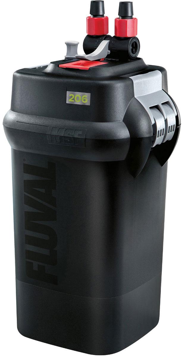 Фильтр для аквариума Fluval Fluval 206, канистровый фильтр hagen a 465 fluval u1 внутренний до 45л