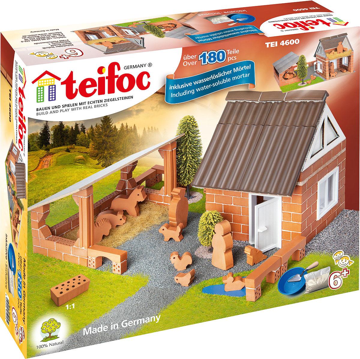 Teifoc Строительный набор Ферма - Конструкторы
