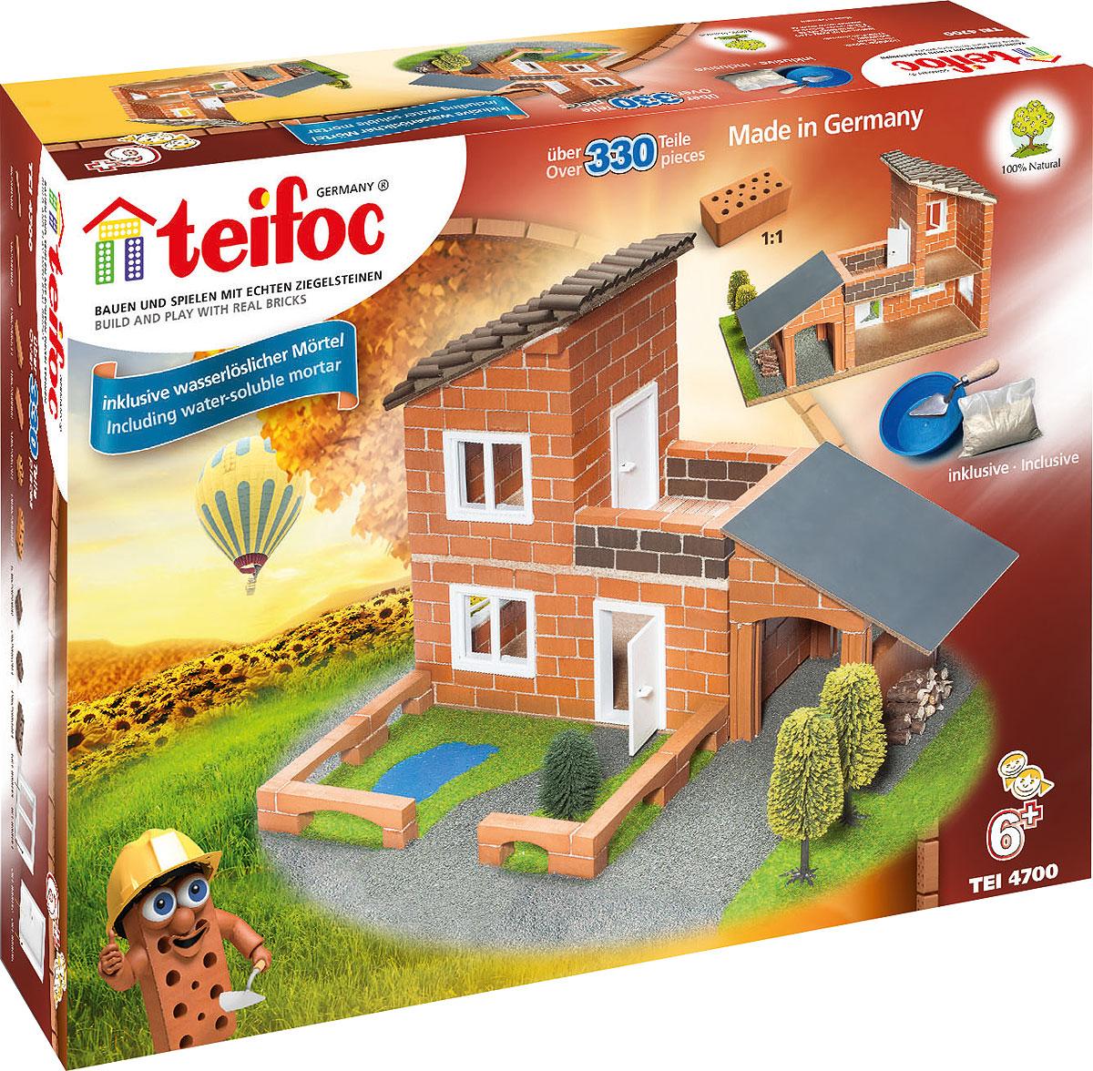 Teifoc Строительный набор Вилла с гаражом - Конструкторы