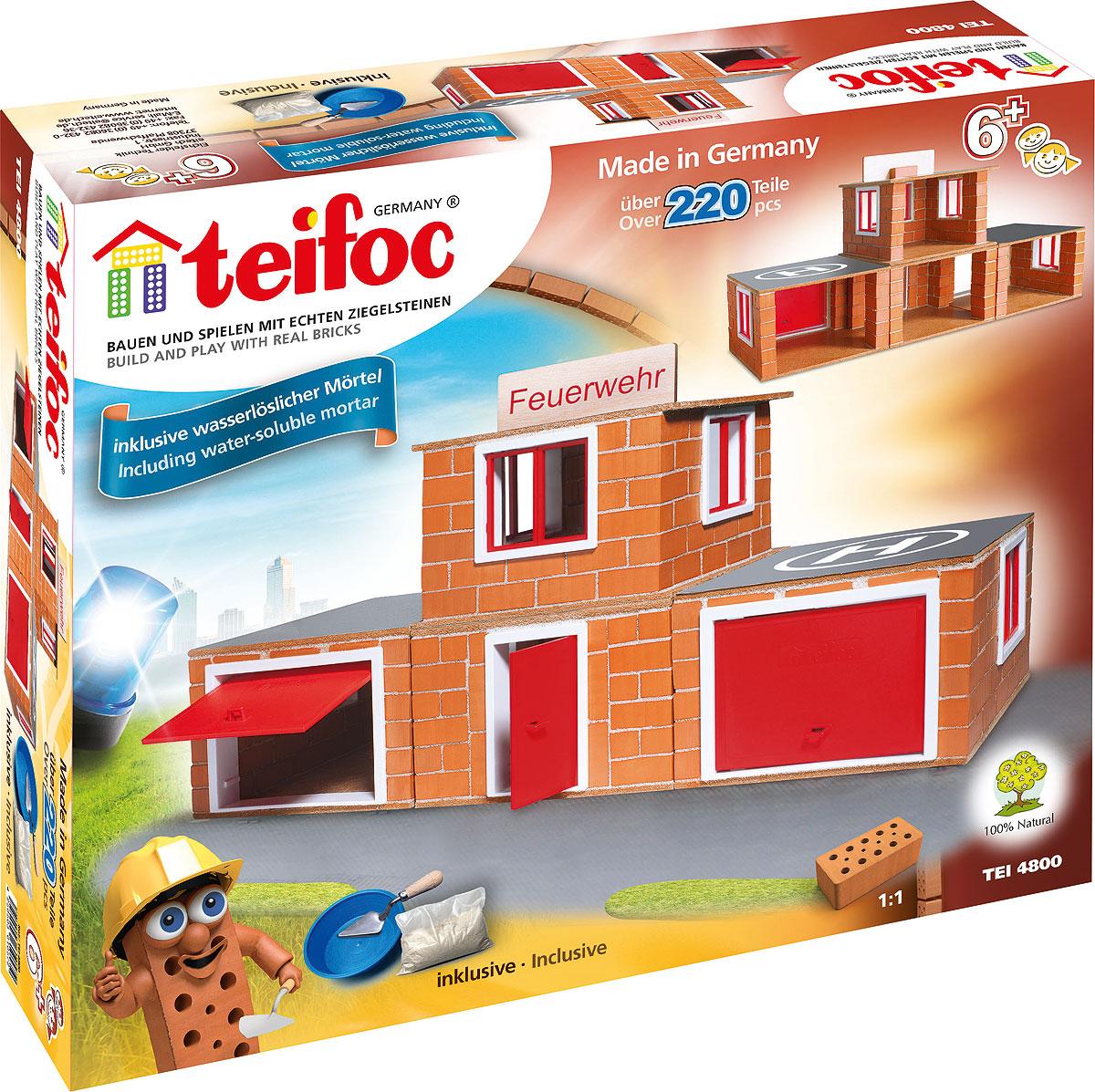Teifoc Строительный набор Пожарное депо - Конструкторы