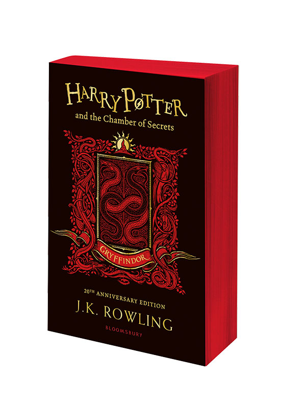 Harry Potter and the Chamber of Secrets – Gryffindor Edition harry potter and the philosopher s stone gryffindor edition