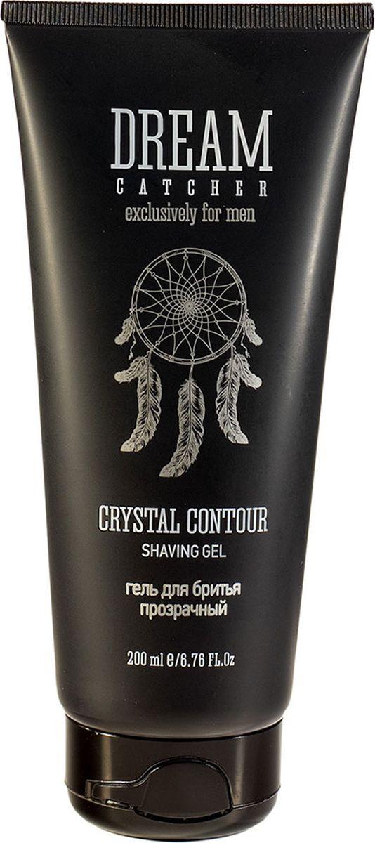 Dream Catcher Гель для бритья прозрачный Crystal contour shaving gel, 200 мл
