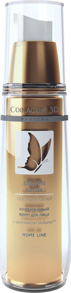 Medical Collagene, 3D Крем для лица Golden Glow, 30 мл15023Средство для всех типов кожи с легкой текстурой для ежедневного ухода. Придает коже естественное сияние и выравнивает ее тон.