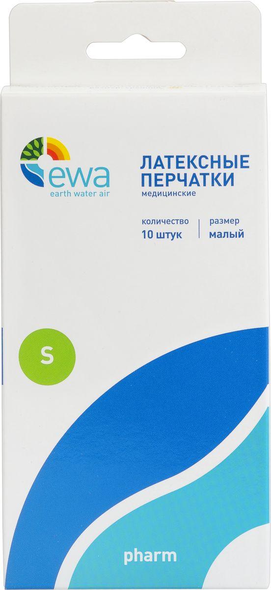 Перчатки хозяйственные EWA Pharm, 10 шт. Размер SPH000004SКомфорт и защита 100% натуральный латекс Текстурированная поверхность Неопудренные Прочные и эластичные Одноразовые, нестерильные Размеры S У некоторых людей использование латексных перчаток может вызывать аллергические реакции.При производстве перчаток EWA, используются специальные методы выщелачивания иинтенсивной очистки изделий, снижающие содержание белков в изделиях.
