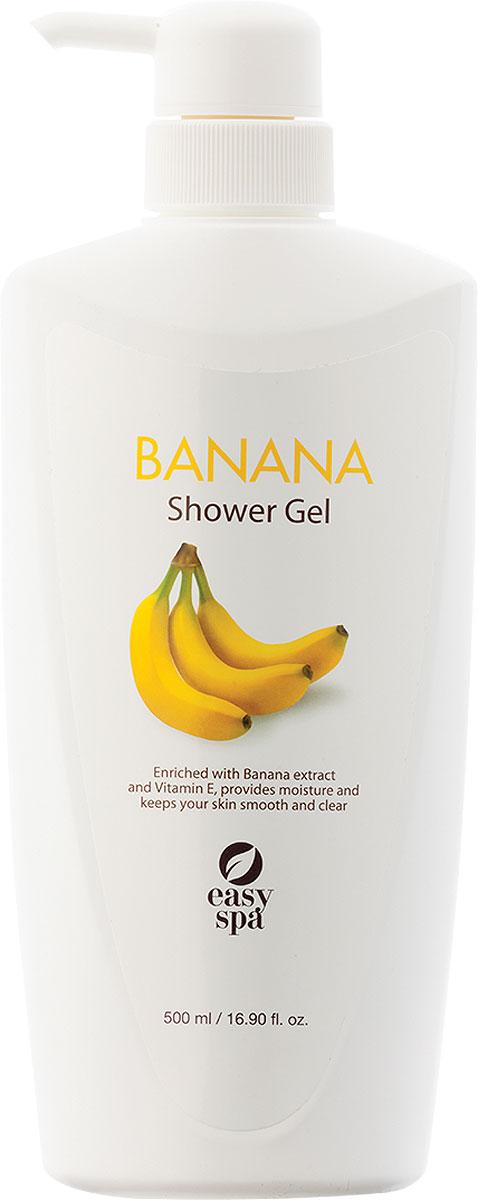 Easy Spa Гель для душа Banana, 500 мл65048BANANA (Банан) гель для душа Экстракт банана содержит три вида сахара: сахароза, фруктоза и глюкоза, способствующие увлажнению и смягчению кожи. Обладает сладким фруктовым ароматом.
