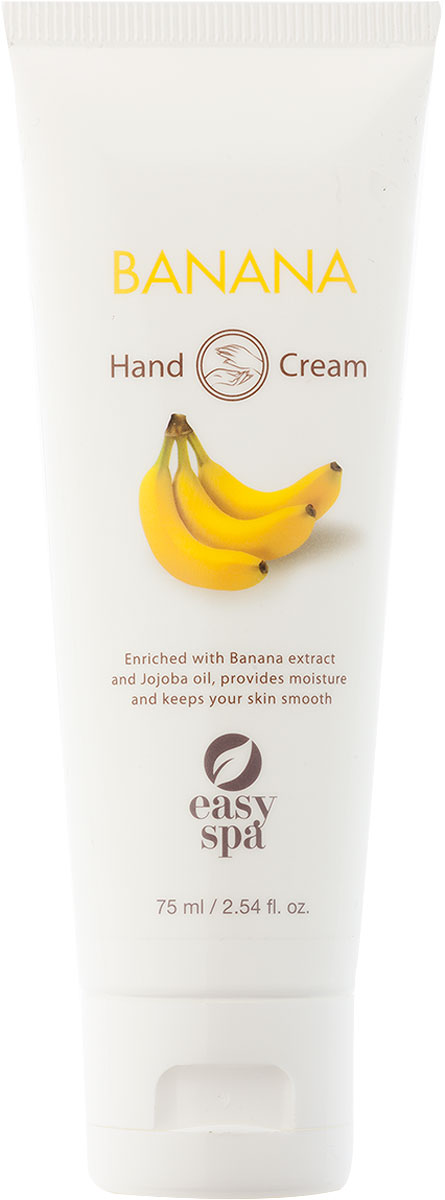 Easy Spa Крем для рук Banana, 75 мл наушники bbk ep 1200s вкладыши оранжевый проводные