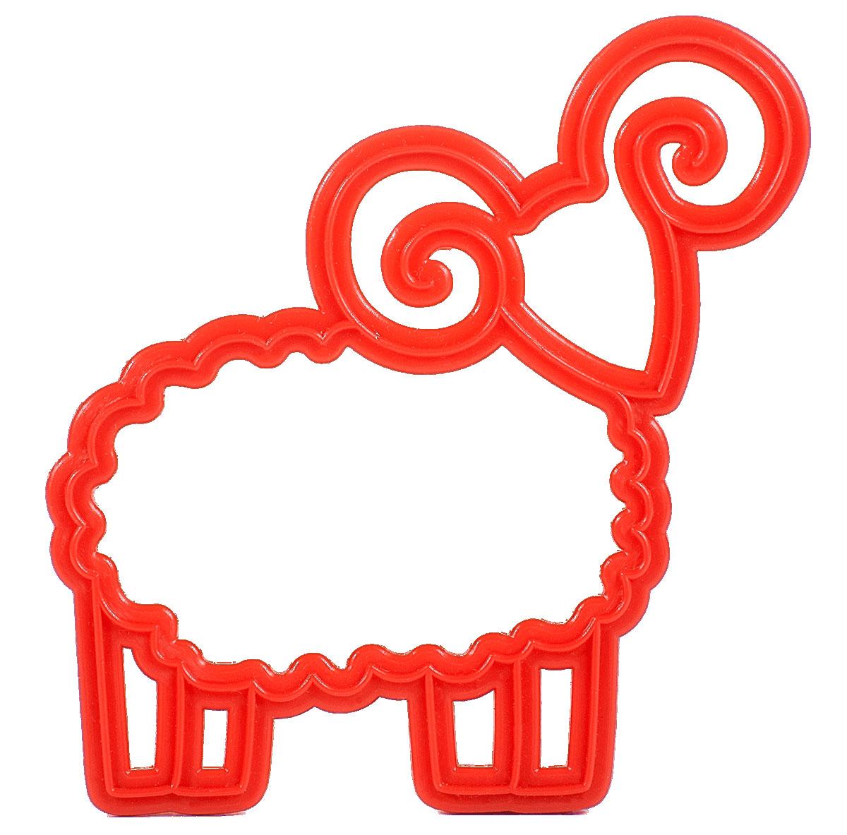 """Многоразовая форма из коллекции """"Знаки зодиака"""" подходит для вырезания песочного и  пряничного теста, для домашнего и профессионального использования. Просто поместите формочку на предварительно раскатанный пласт, оттисните узор, снимите. Вы  увидите не только контур, но и красивый внутренний рисунок. С помощью такой формы можно приготовить сладости своими руками: испеките печенье или  пряник в виде Овна - угостите или подарите своим близким и друзьям. Ваши """"овны"""" будут в  восторге."""