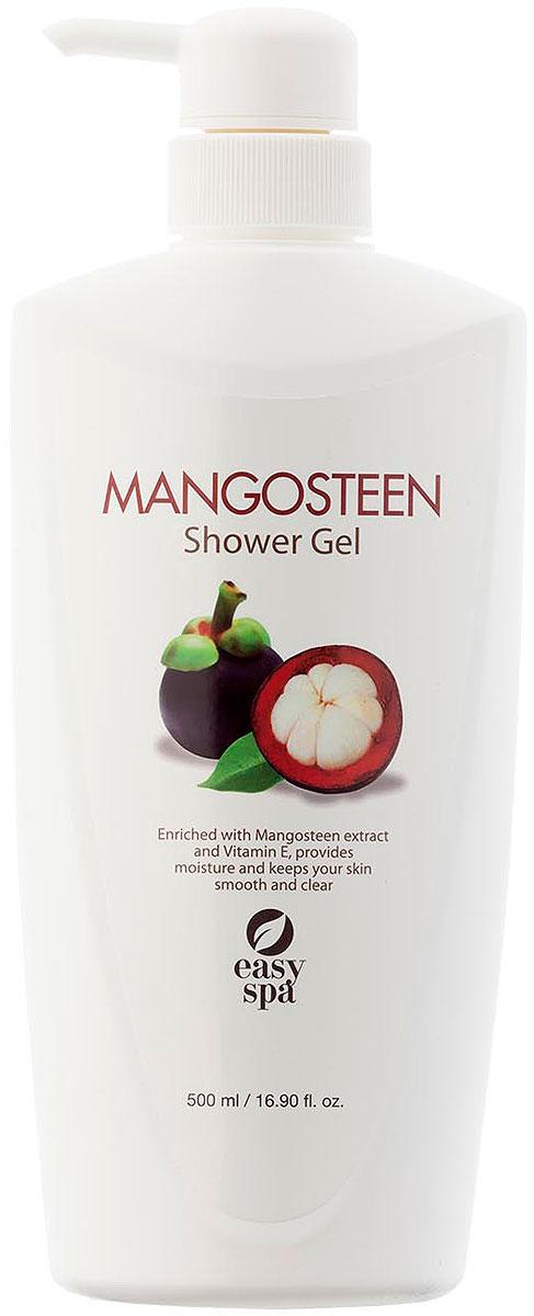 Easy Spa Гель для душа Mangosteen, 500 мл63848MANGOSTEEN (Мангостин) гель для душа с экстрактом мангостина и витамином Е. Описание: увлажняющая формула, обогащенная экстрактом мангостина и витамином Е, глубоко очищает, смягчает и питает кожу, делает ее эластичной. Не содержит парабены и феноксиэтанол.