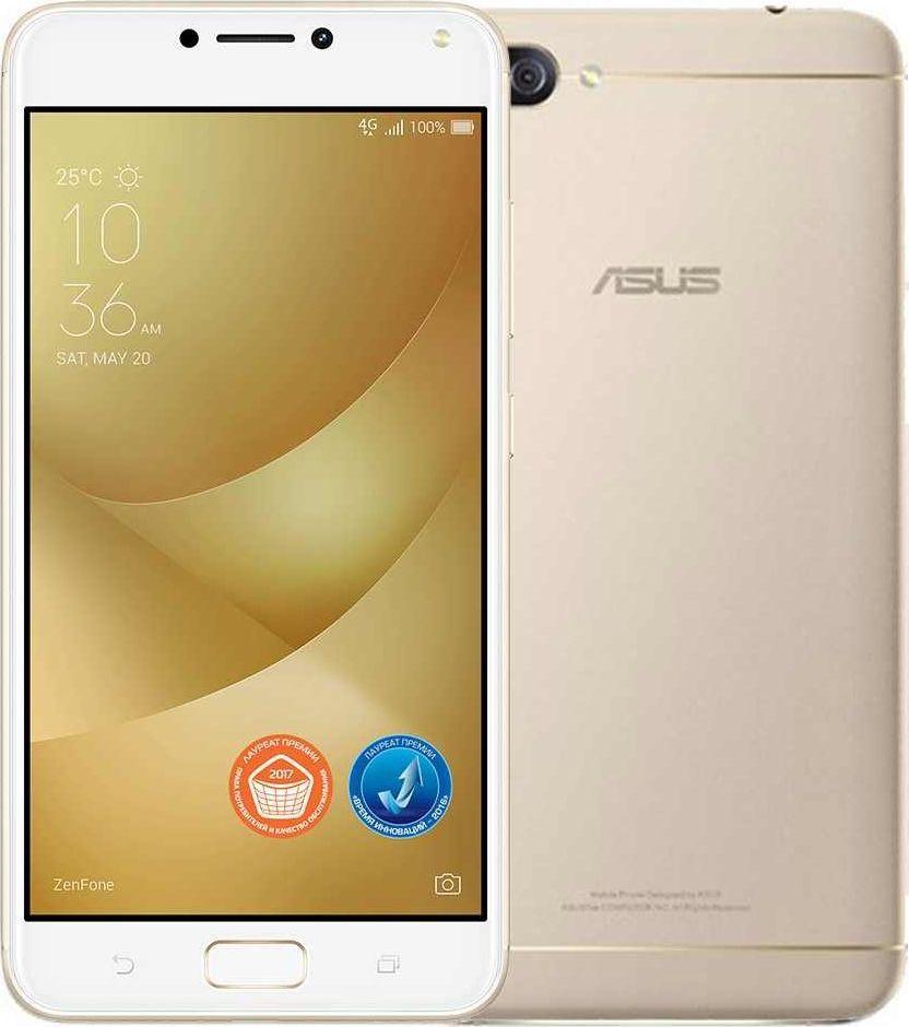 ASUS ZenFone 4 Selfie Pro ZD552KL, Metal Gold - Смартфоны