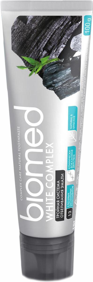 Biomed Зубная паста White Complex/Вайткомплекс, 100 г biomed зубная паста sensitive сенситив 100 г