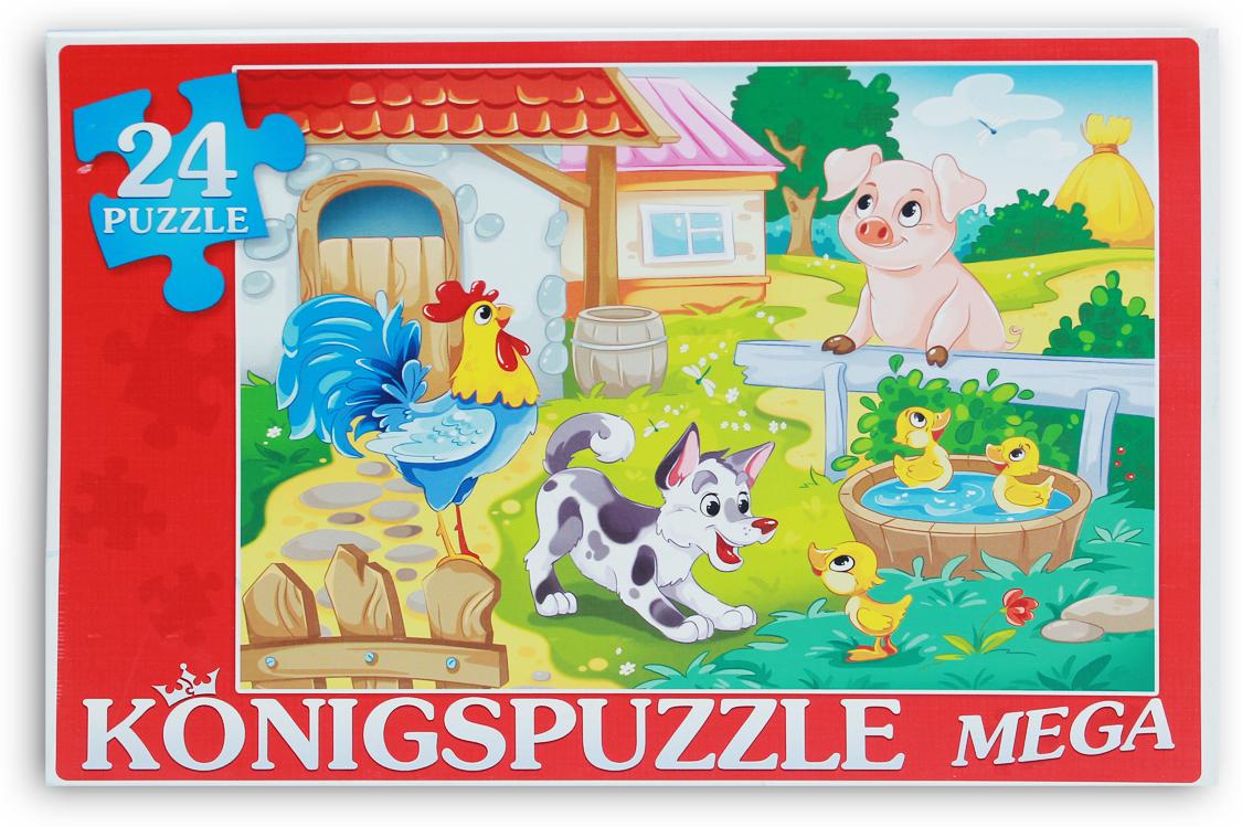 Konigspuzzle Мега-пазл для малышей Большая ферма
