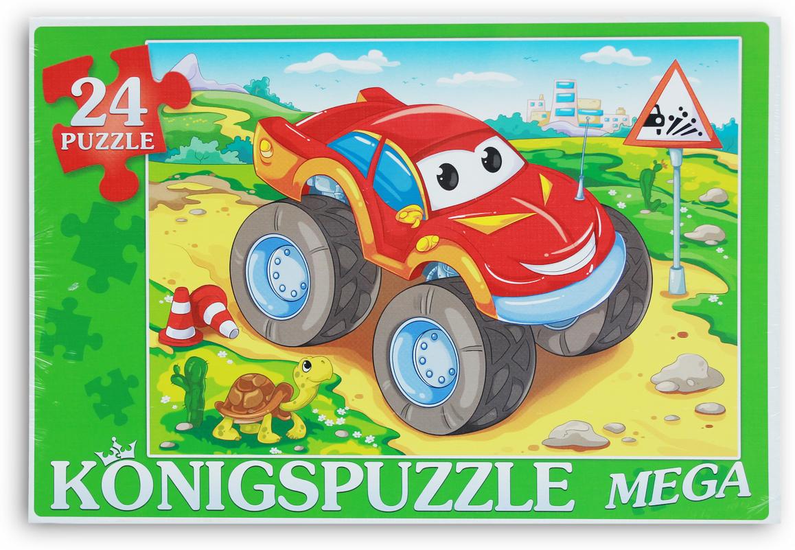 Konigspuzzle Мега-пазл для малышей Суперджип
