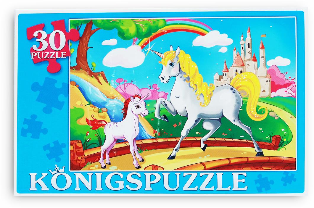 Konigspuzzle Пазл для малышей Мир единорогов
