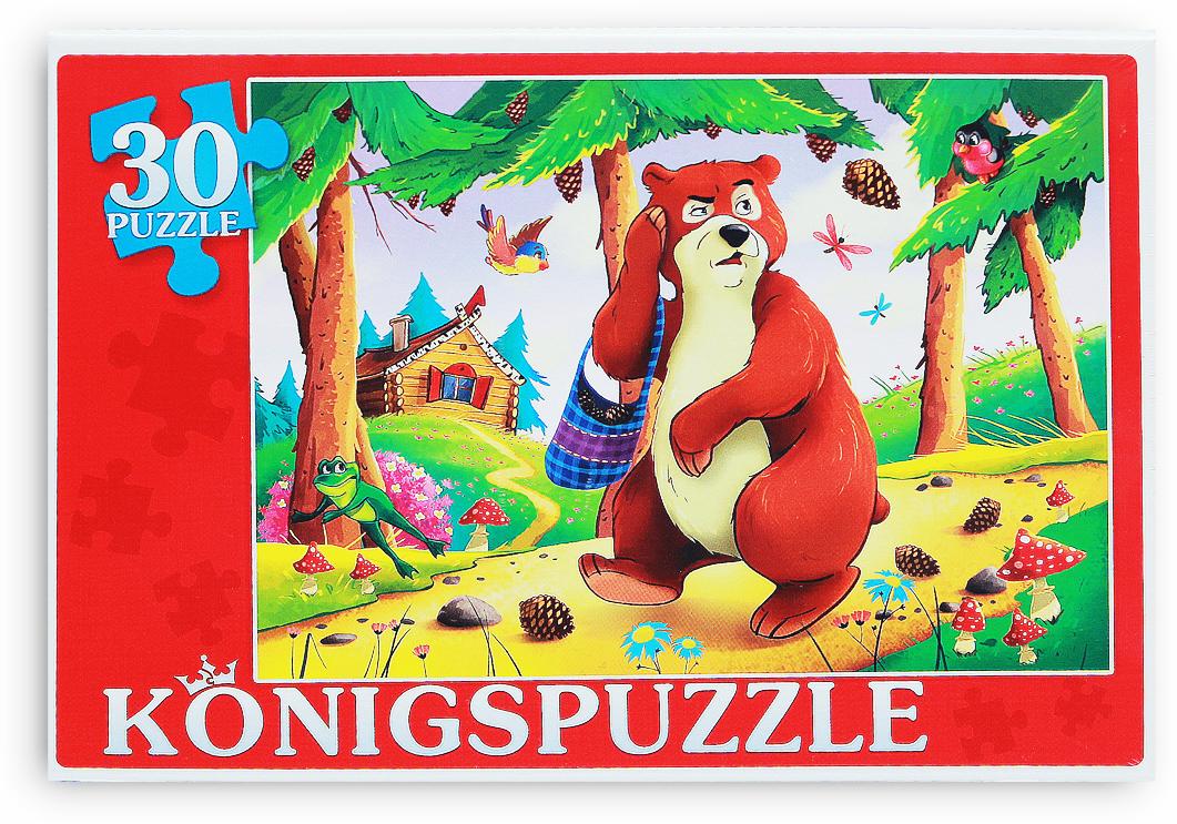 Konigspuzzle Пазл для малышей Мишка косолапый