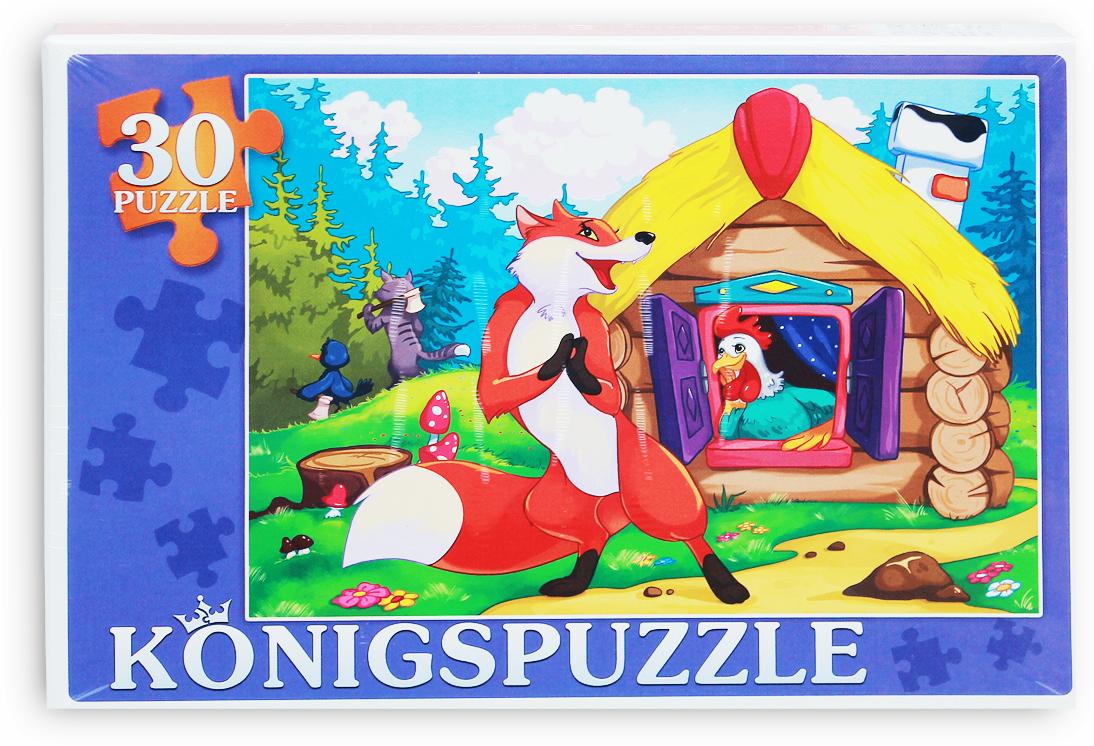 Konigspuzzle Пазл для малышей Петушок-золотой гребешок
