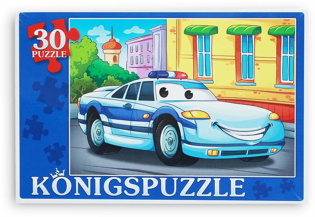 Konigspuzzle Пазл для малышей Полиция