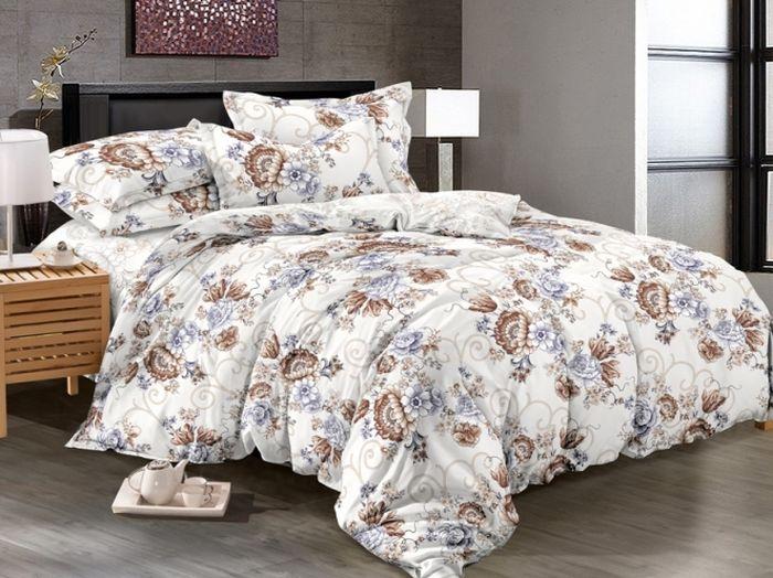 Комплект белья Soft Line, 2-х спальное, наволочки 50x70, цвет: мультиколор. 6101 комплект белья soft line 2 х спальный наволочки 50x70 06121