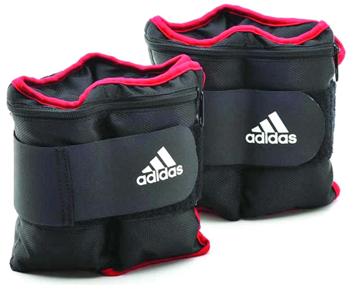 Утяжелители на запястья и лодыжки  Adidas , 1 кг, 2 шт. ADWT-12229 - Инвентарь